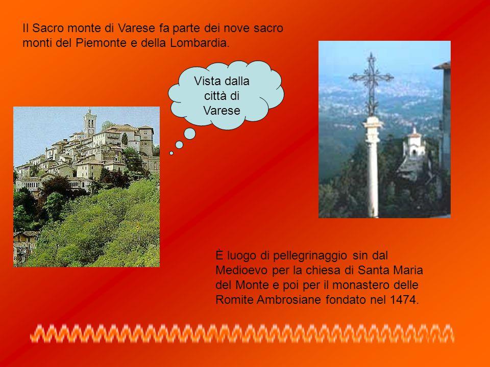 Vista dalla città di Varese