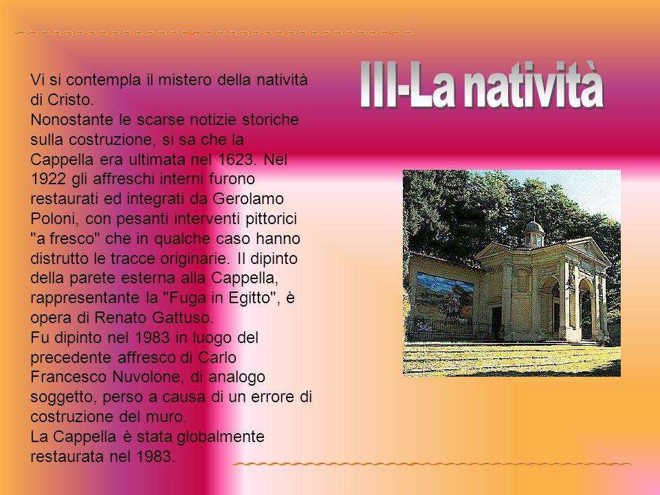 III-La natività