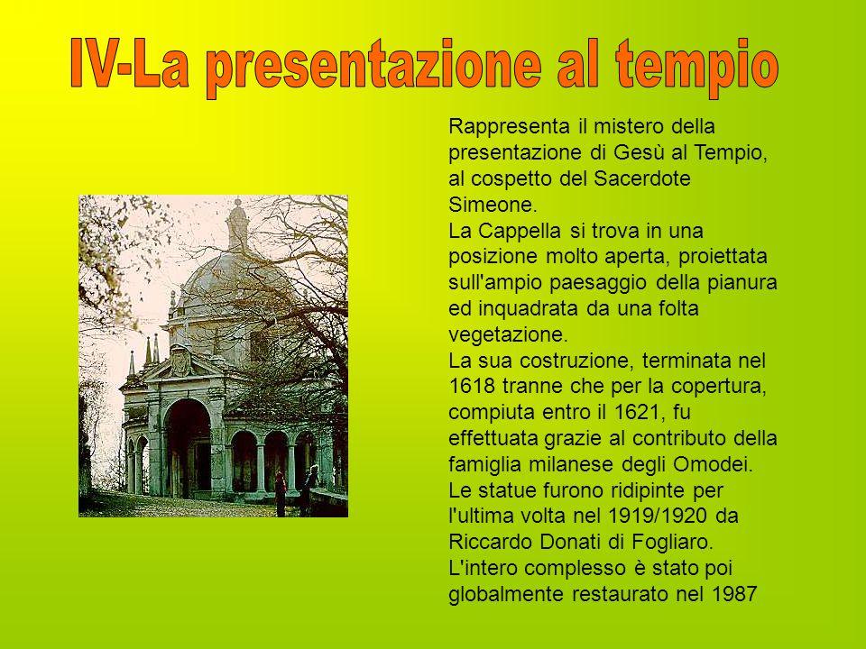 IV-La presentazione al tempio