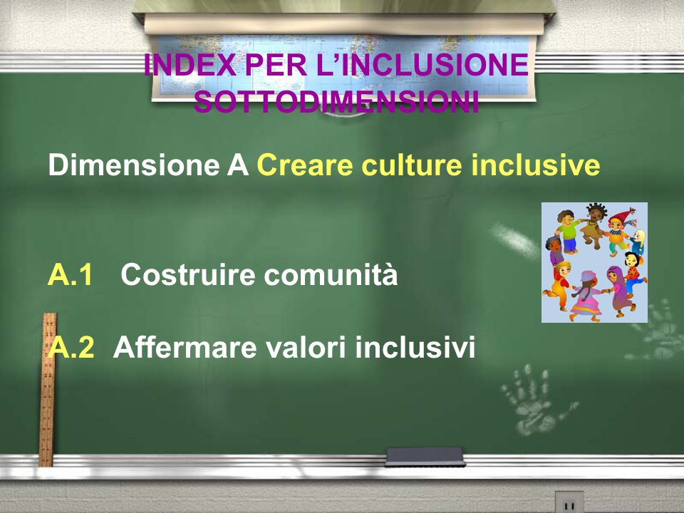 INDEX PER L'INCLUSIONE SOTTODIMENSIONI
