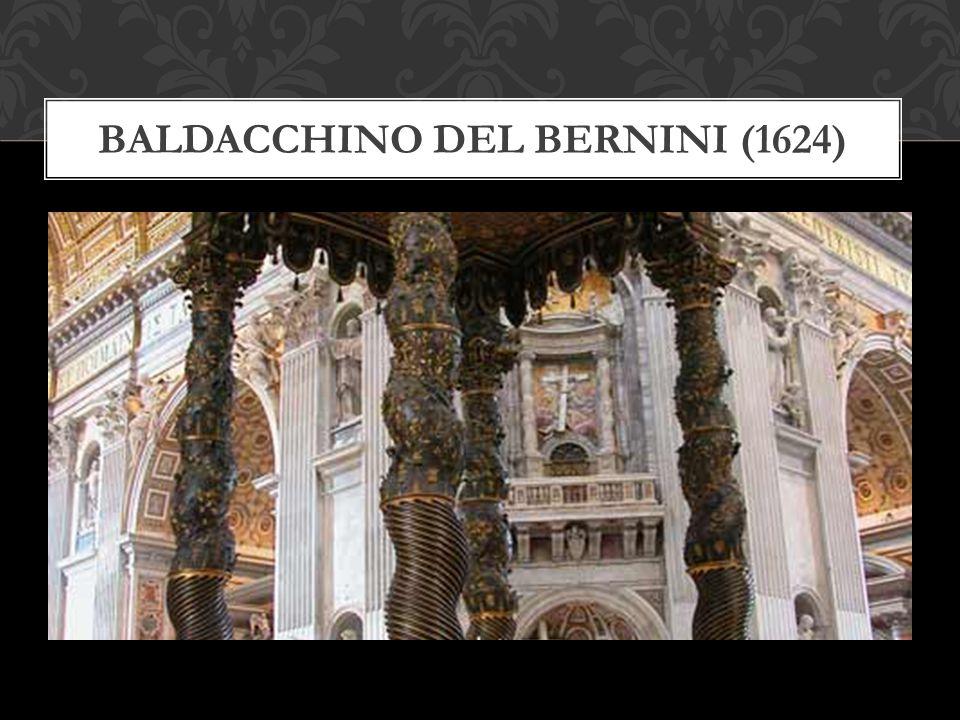 Baldacchino del Bernini (1624)