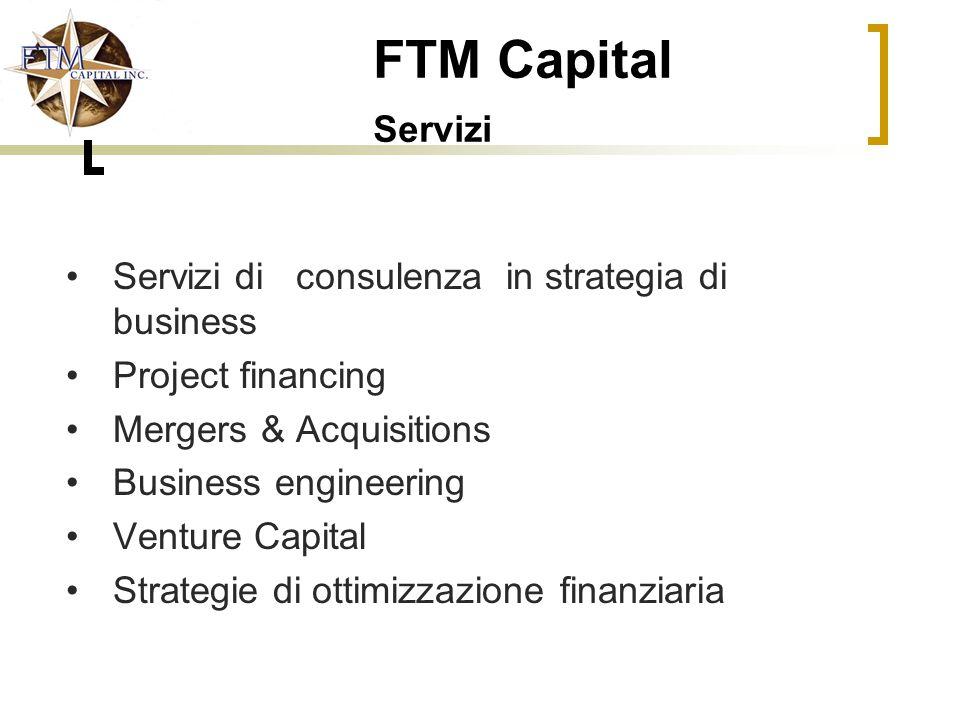 FTM Capital Servizi Servizi di consulenza in strategia di business
