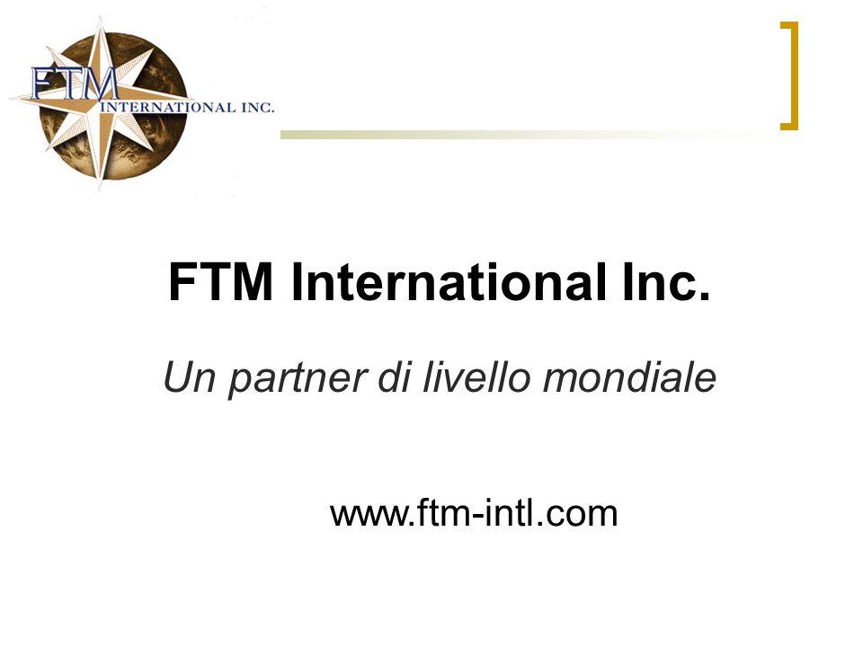 Un partner di livello mondiale
