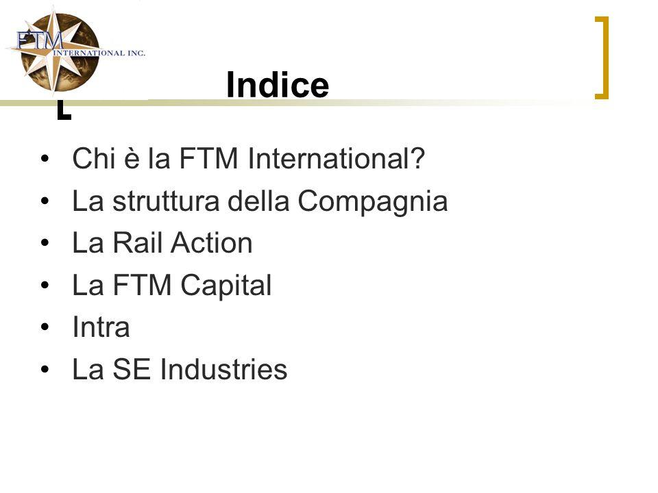 Indice Chi è la FTM International La struttura della Compagnia