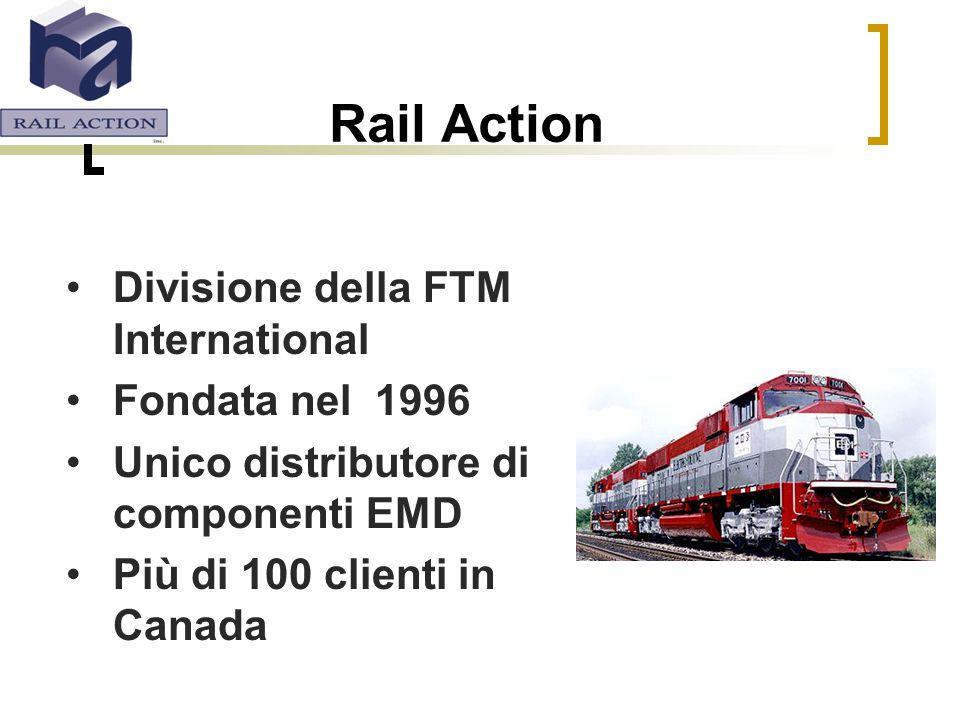 Rail Action Divisione della FTM International Fondata nel 1996