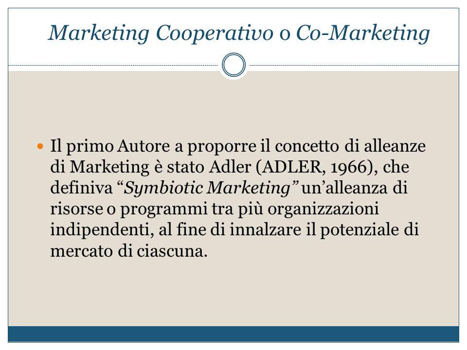 Marketing Cooperativo o Co-Marketing