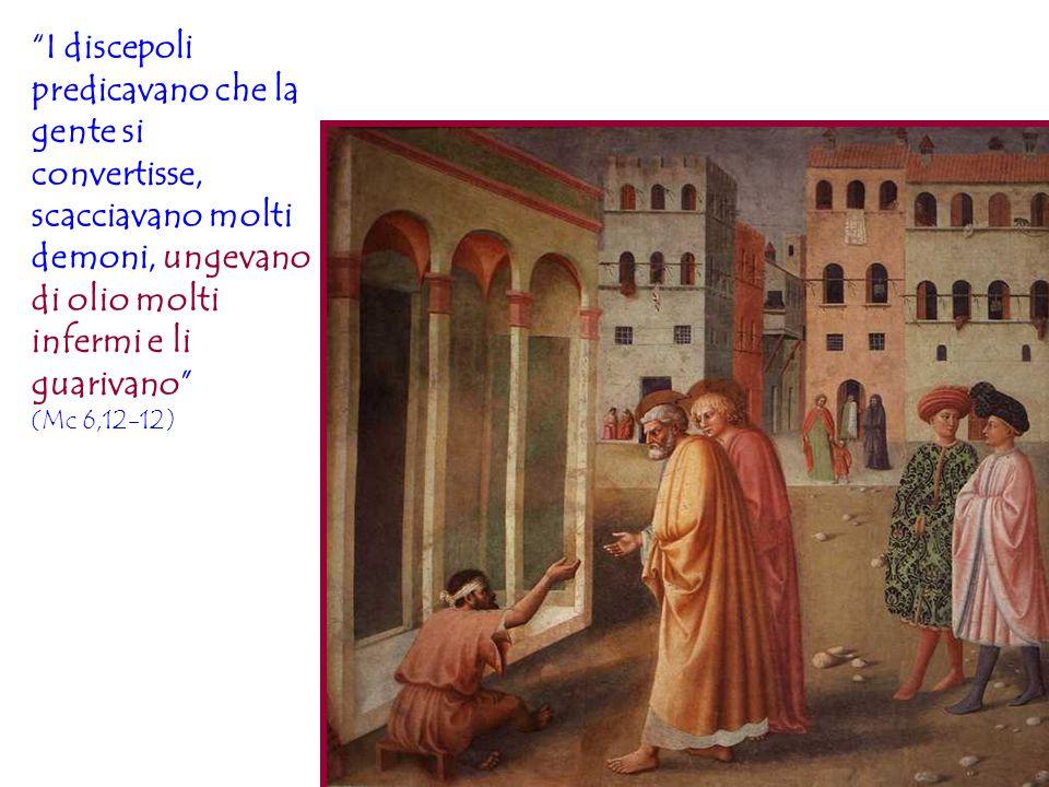 I discepoli predicavano che la gente si convertisse, scacciavano molti demoni, ungevano di olio molti infermi e li guarivano