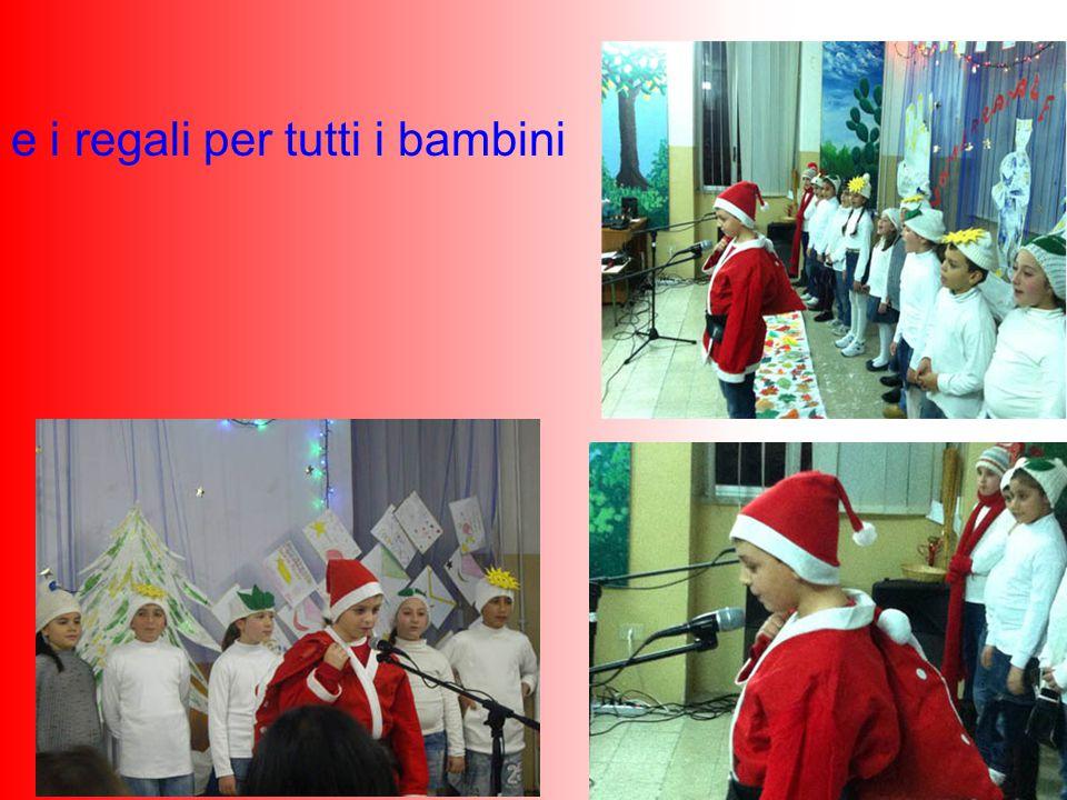 e i regali per tutti i bambini