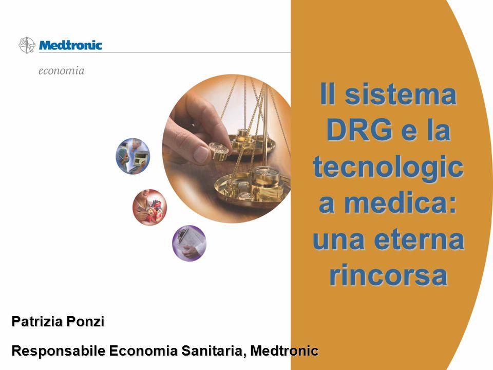Il sistema DRG e la tecnologica medica: una eterna rincorsa