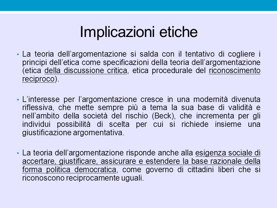 Implicazioni etiche
