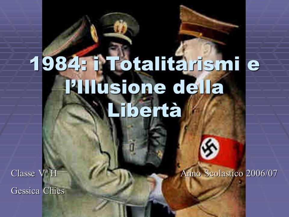 1984: i Totalitarismi e l'Illusione della Libertà