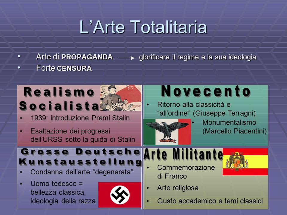 L'Arte Totalitaria Novecento Realismo Socialista Grosse Deutsche