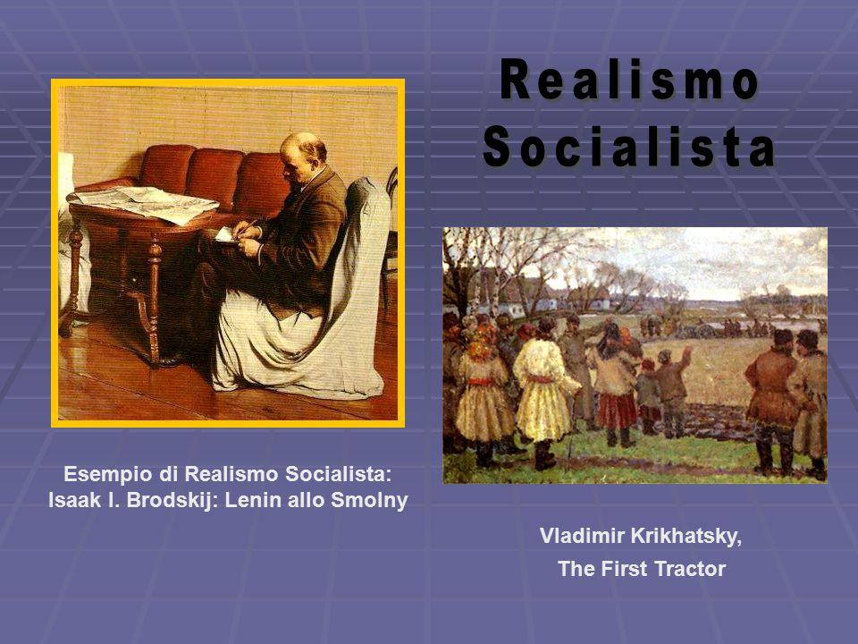 Isaak I. Brodskij: Lenin allo Smolny