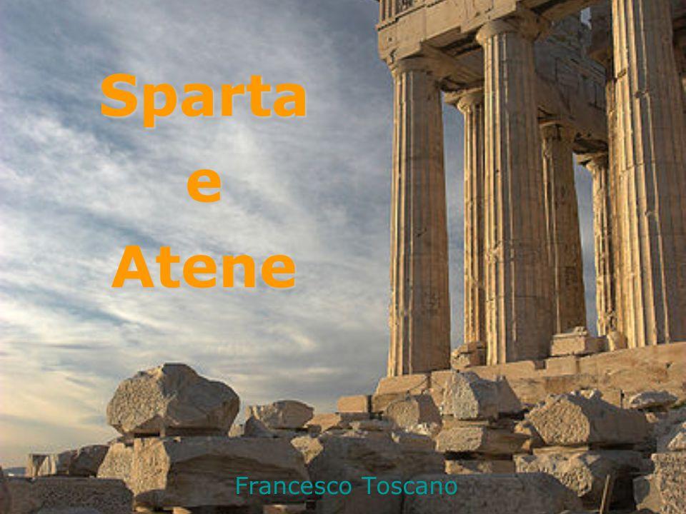 Sparta e Atene Francesco Toscano