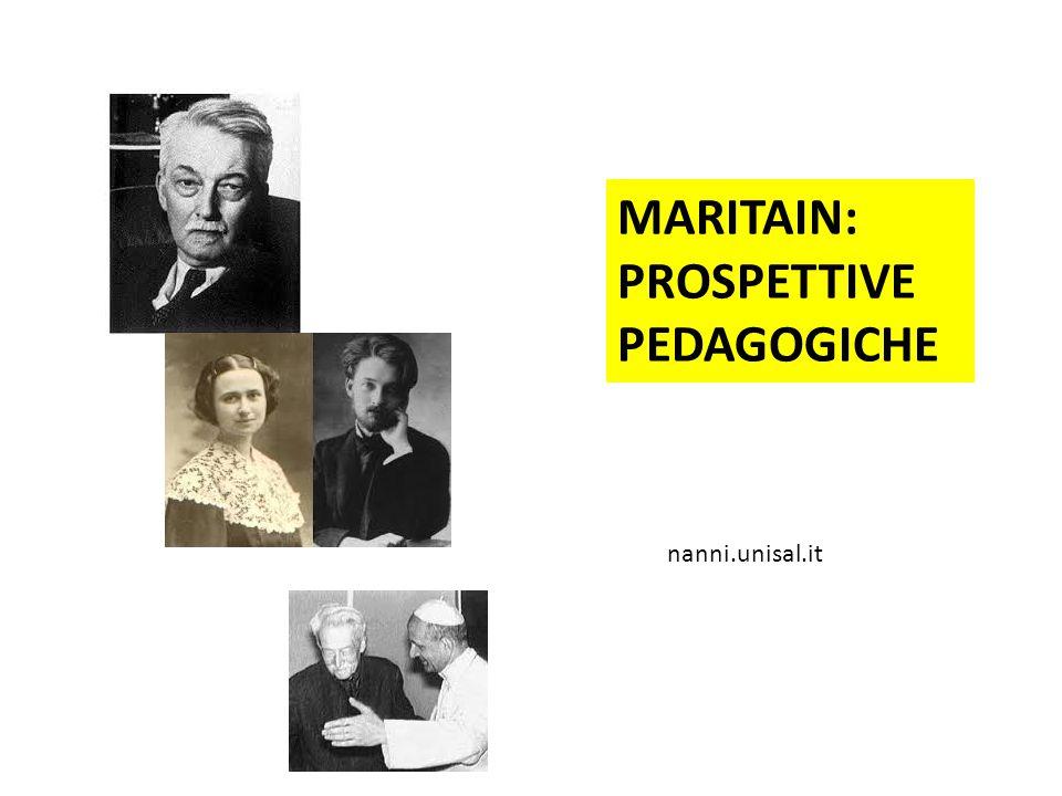 PROSPETTIVE PEDAGOGICHE