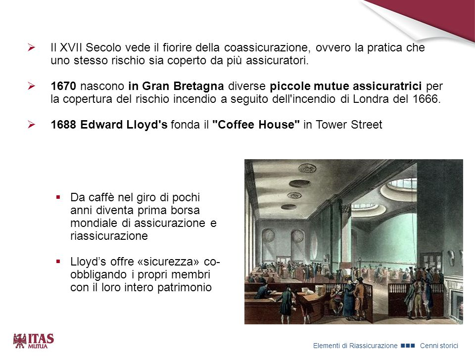 1688 Edward Lloyd s fonda il Coffee House in Tower Street