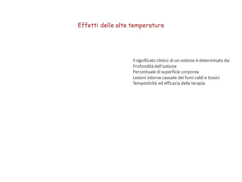 Effetti delle alte temperature