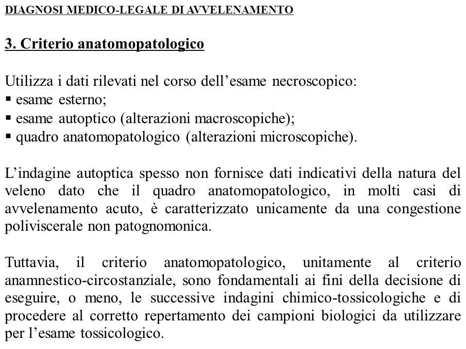 3. Criterio anatomopatologico