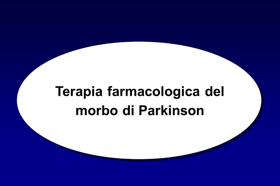 Terapia farmacologica del morbo di Parkinson