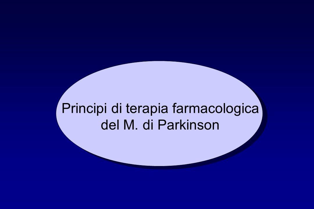Principi di terapia farmacologica del M. di Parkinson