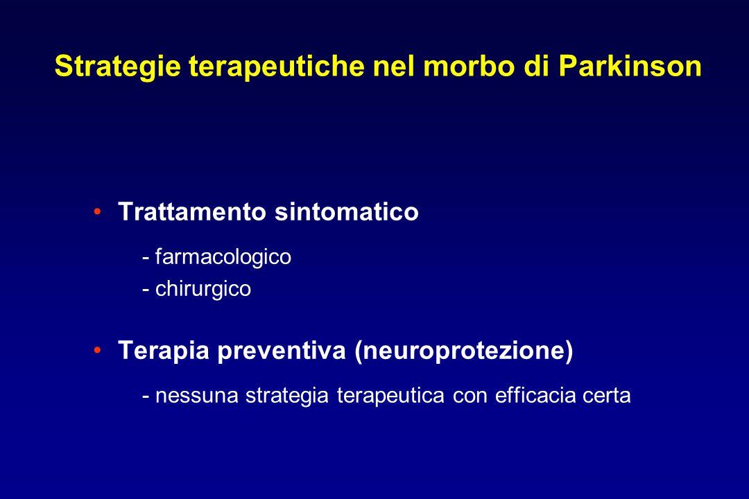 Strategie terapeutiche nel morbo di Parkinson