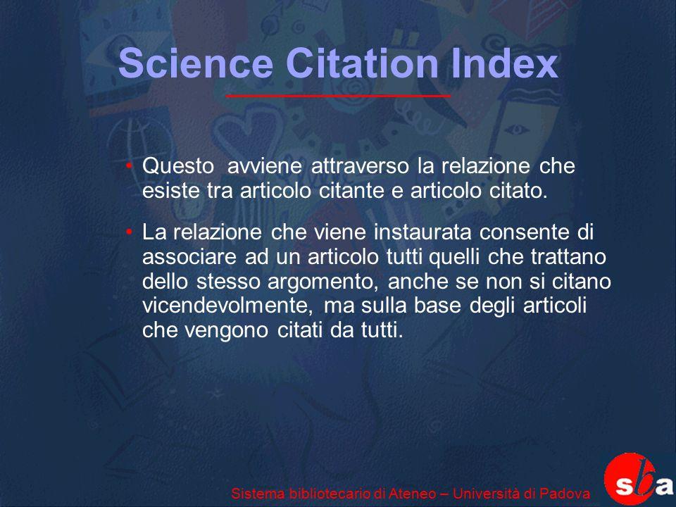 Science Citation Index