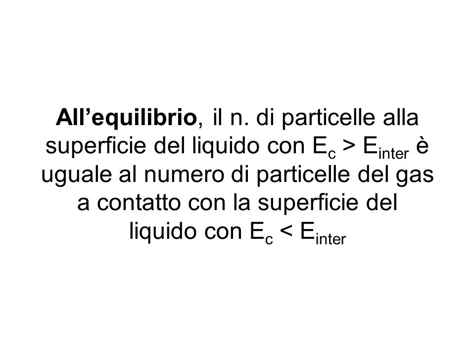 All'equilibrio, il n.