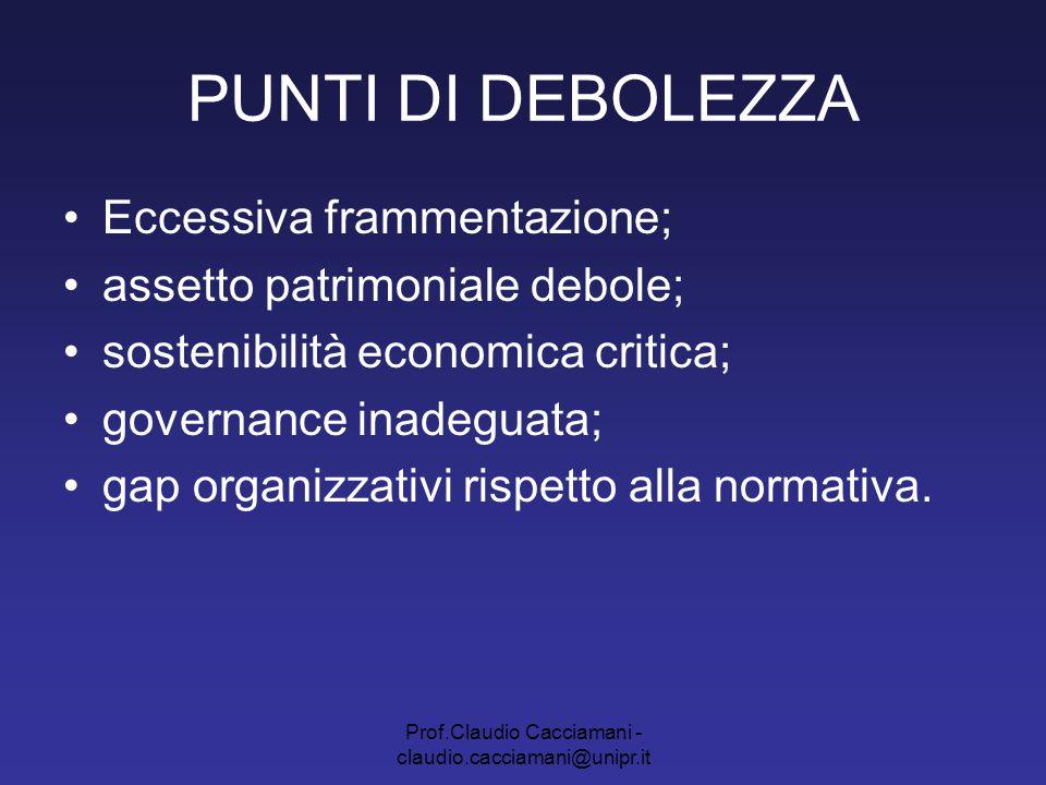 Prof.Claudio Cacciamani - claudio.cacciamani@unipr.it