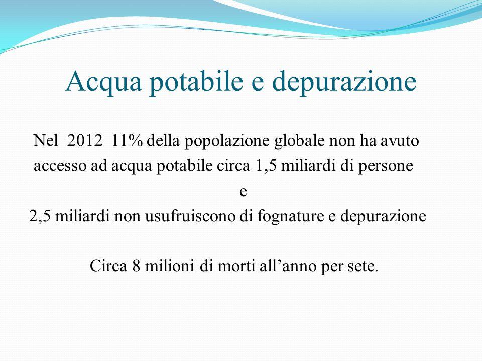 Acqua potabile e depurazione