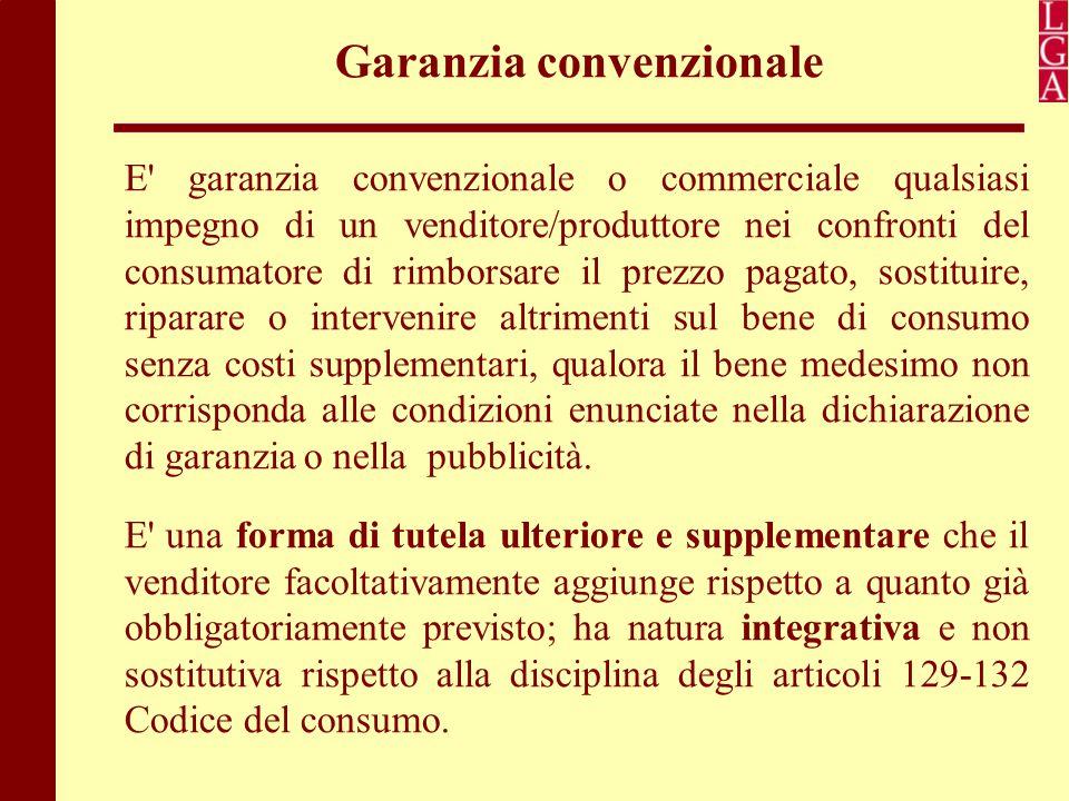 Garanzia convenzionale