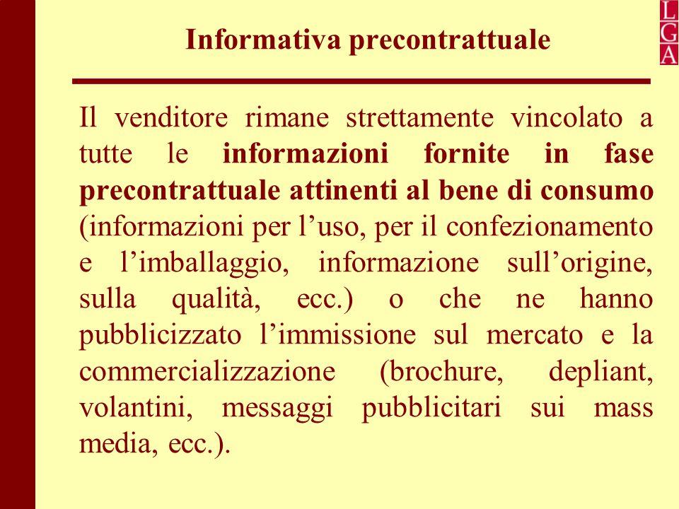 Informativa precontrattuale