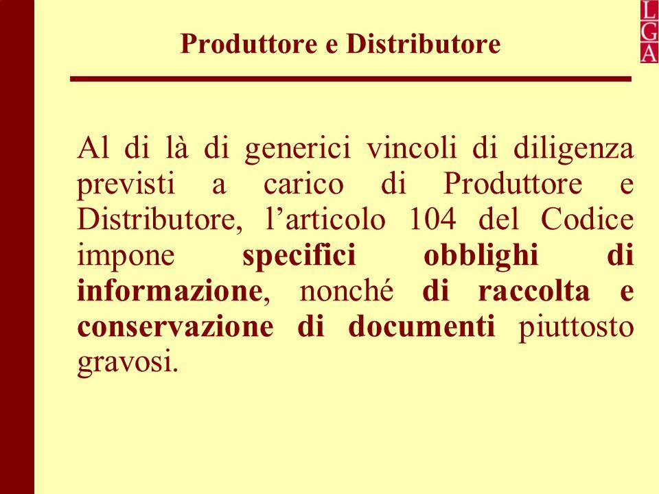 Produttore e Distributore