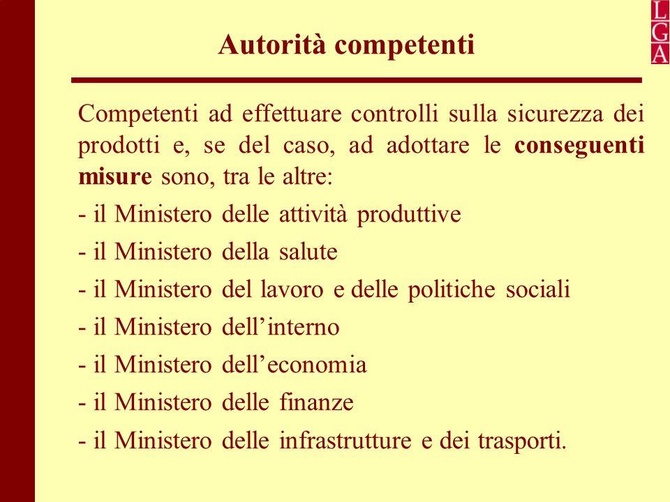 Autorità competenti