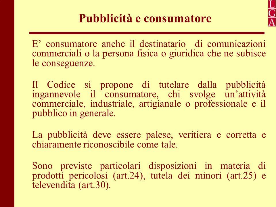Pubblicità e consumatore