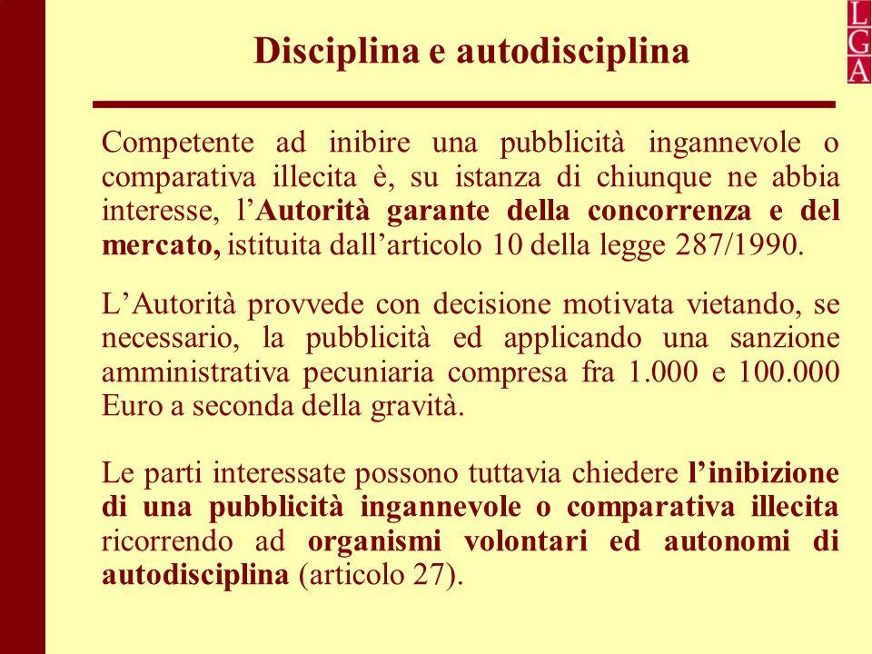 Disciplina e autodisciplina