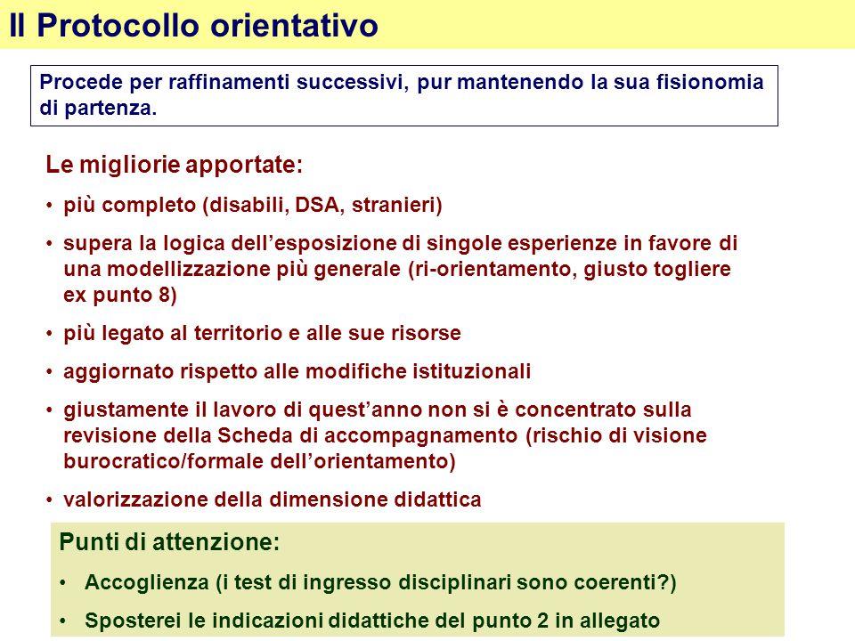 Il Protocollo orientativo