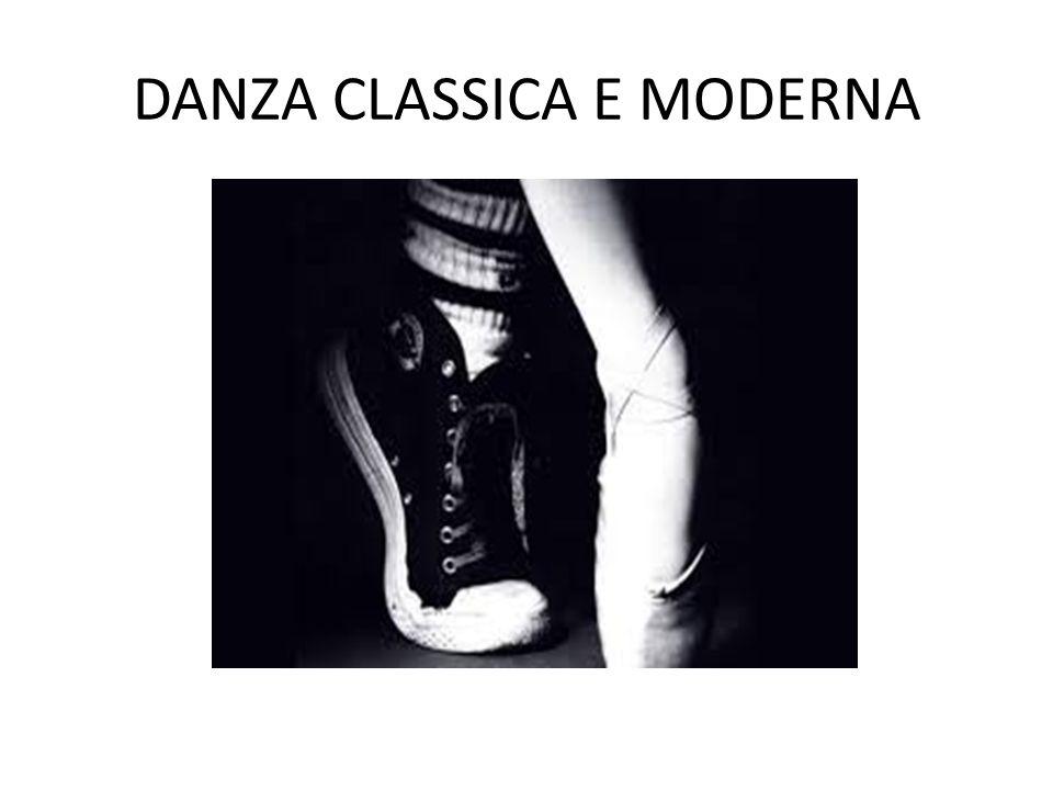 DANZA CLASSICA E MODERNA