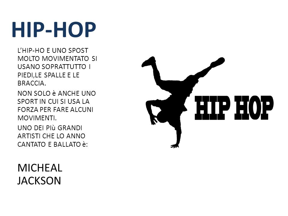 HIP-HOP MICHEAL JACKSON