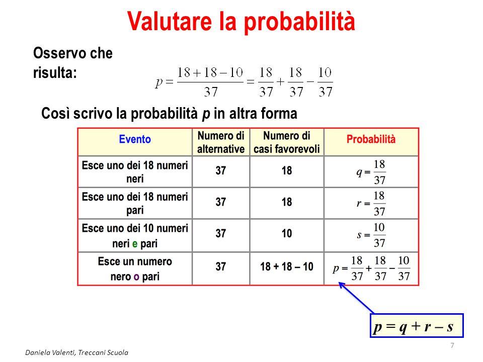 Valutare la probabilità