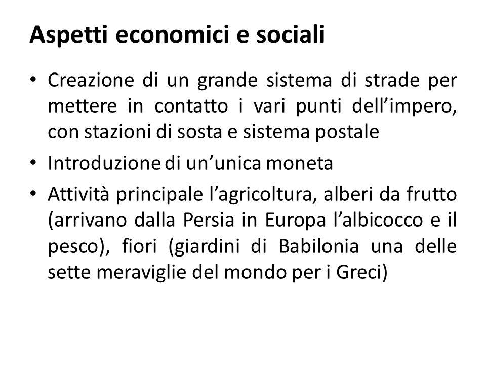 Aspetti economici e sociali
