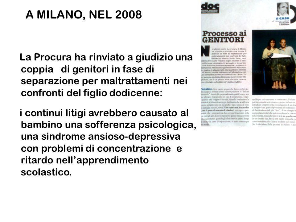 A MILANO, NEL 2008