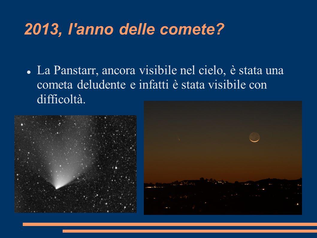 2013, l anno delle comete.