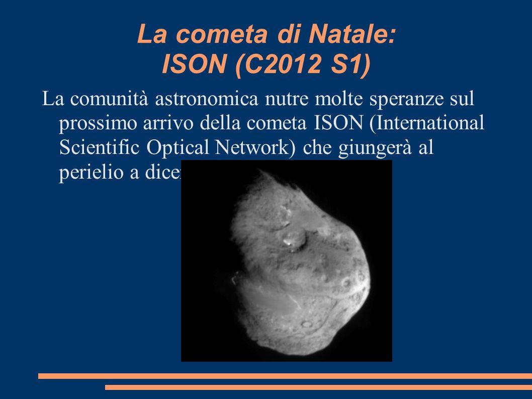 La cometa di Natale: ISON (C2012 S1)