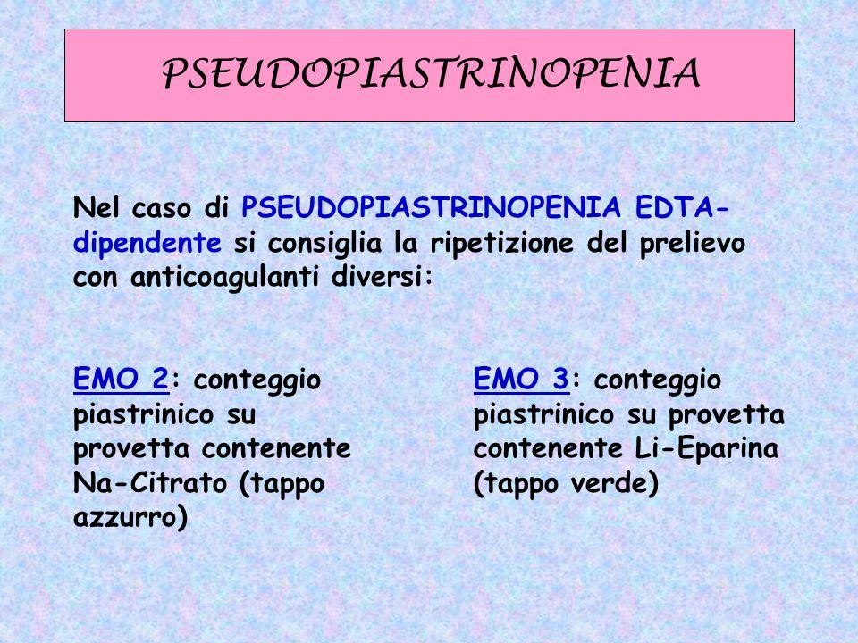 PSEUDOPIASTRINOPENIA