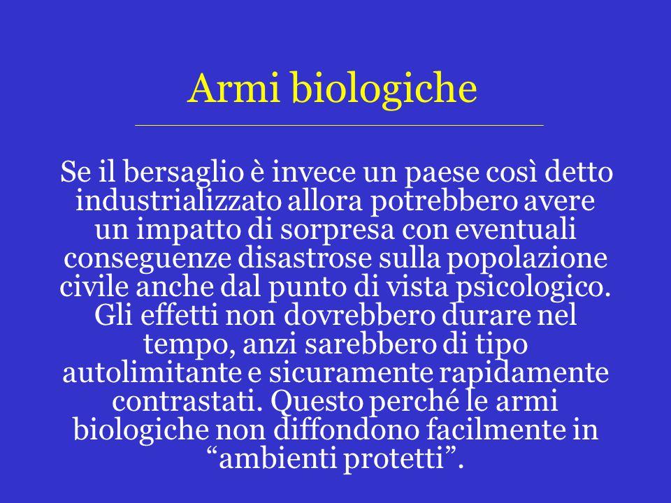 Armi biologiche
