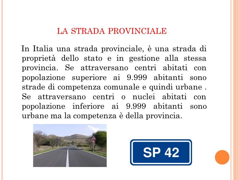 la strada provinciale