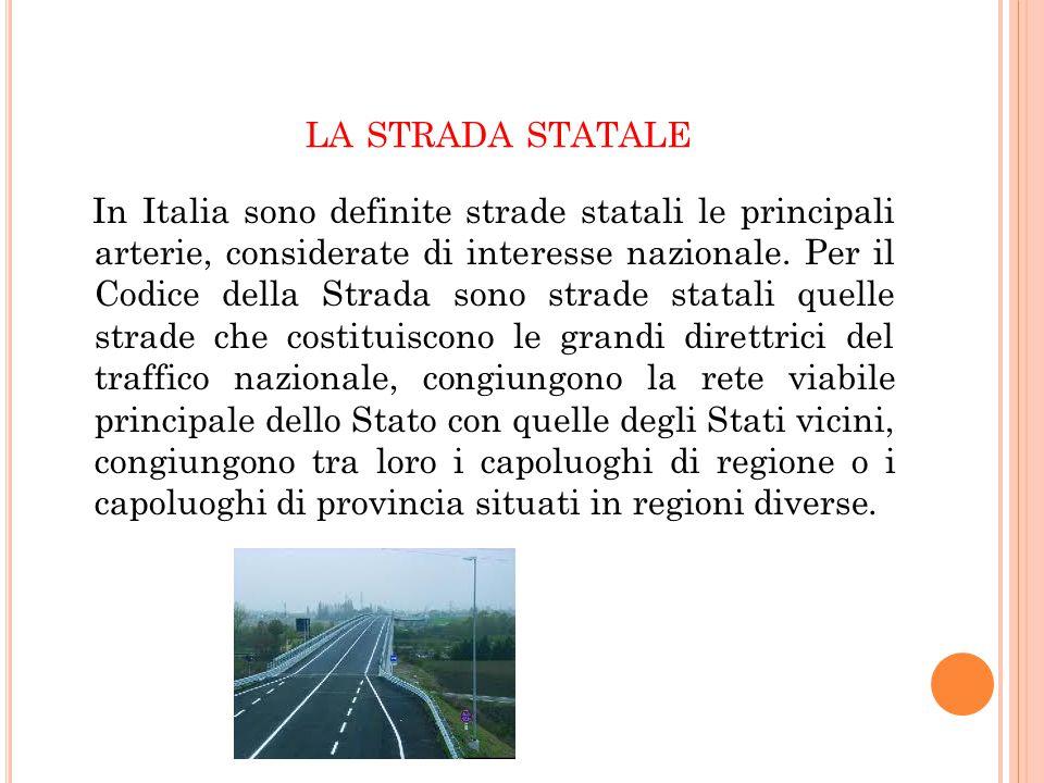 la strada statale