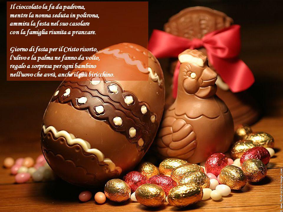 Il cioccolato la fa da padrona,