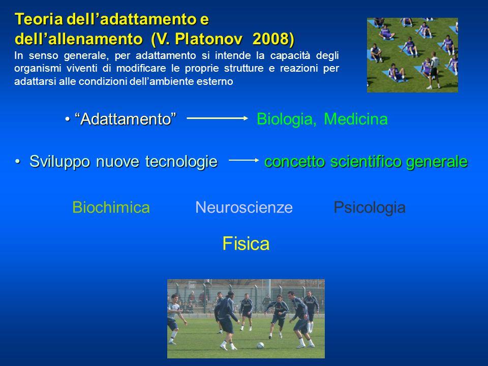 Fisica Teoria dell'adattamento e dell'allenamento (V. Platonov 2008)