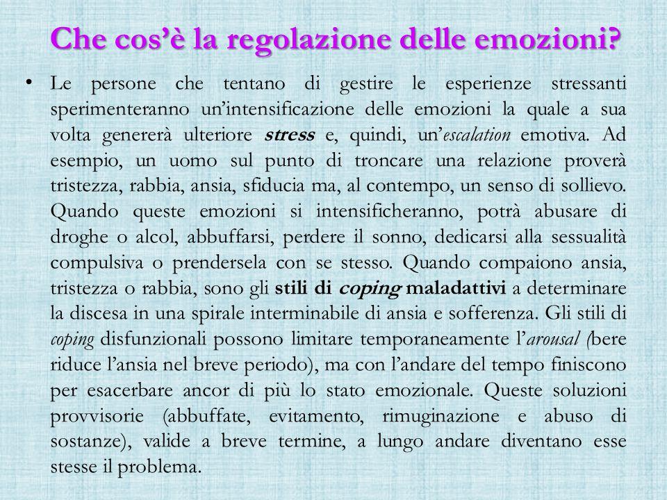 Che cos'è la regolazione delle emozioni